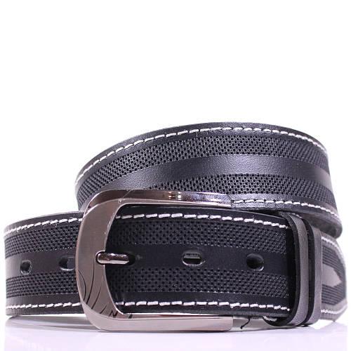 Мужской привлекательный кожаный ремень LAZAR (ЛАЗАР), CFL40I1SH12