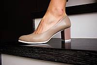 Стильные женские туфли из натуральной турецкой кожи