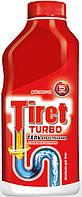 TIRET TURBO Жидкое средство для чистки канализационных труб 500 мл