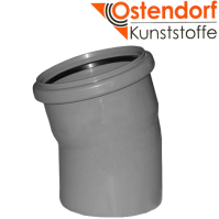 """Отвод 32х15 для внутренней канализации  из полипропилена """"OSTENDORF"""" (Германия)"""