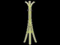Напольная вешалка для прихожей Signal Gent green