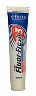 Зубная паста свежее дыхание Elkos Dental Fluor-Fresh 3 125ml