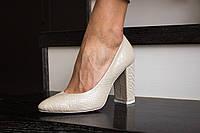 Стильные женские туфли - лодочка из натуральной турецкой кожи