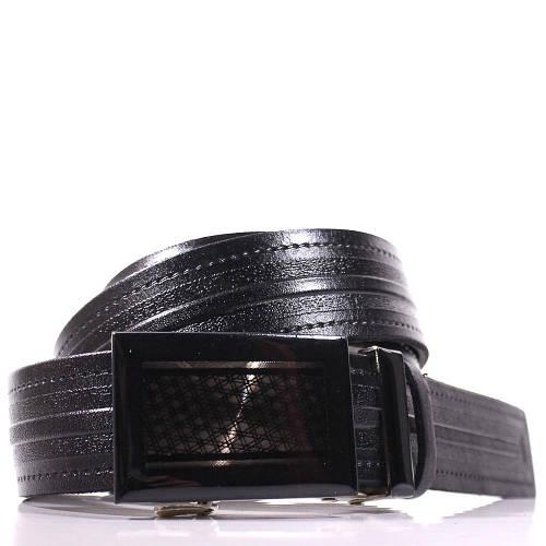 Мужской стильный кожаный ремень LAZAR (ЛАЗАР), CFL35Y1A58