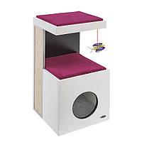 Ferplast (Ферпласт) Diablo Мебель для кошек домик с когтеточкой