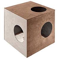 Ferplast (Ферпласт) Kubo 1 Мебель для кошек домик с когтеточкой Кубо 1