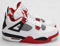 "Кроссовки Nike Air Jordan Retro 4 ""White Varsity Red Black"""