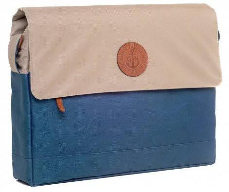 """Функциональная сумка-менеджер для ноутбука диагональю 12-14"""" GIN БИФИТЕР-nevi beige"""