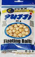 Наживка рыболовная плавающие воздушное тесто CUKK PUFFY  Натурал мини (3 - 4 мм)