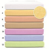 Простынка фланелевая на резинке для детской кроватки, 60 х 120 BabyMatex