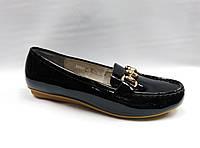 Лаковые туфли-мокасины Erisses. Маленькие размеры.