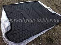 Коврик в багажник TOYOTA Land Cruiser 120 7 мест (AVTO-GUMM) пластик+резина