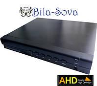 Видеорегистратор TCL-1602AHD гибридный, 16 каналов (IP, аналоговые, AHD камеры), 1080P,Tesla