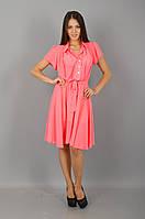 Бони.Молодёжные платья.НеонКоралл.(Р)., фото 1