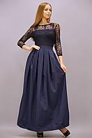 Анабель. Молодёжные платья. Синий., фото 1
