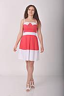 Атланта.Молодёжные платья.Коралл.(Р).
