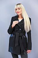 Рио.Молодежные женские пальто.Черный.(Р)., фото 1