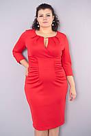 Лореаль. Платья больших размеров. Красный., фото 1