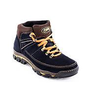 """Мужские зимние ботинки с натуральной кожи """"Bastion"""""""