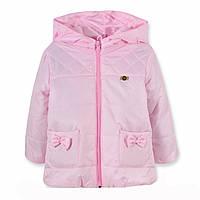Детская весенняя куртка Минни Маус съемный рукав