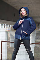 Джули.Молодежные женские куртки.Синий.(Р).