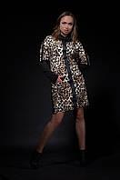 Таша. Платья больших размеров. Леопард., фото 1