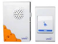 Беспроводной звонок на батарейках Lemanso LDB10 32 мелодии, дальность 100м
