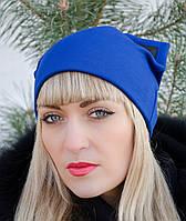 Китти. Молодёжные женские шапки. Электрик.