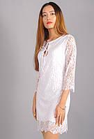 Зарина. Молодёжные платья. Белый.