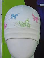 Шапка Польша цветные бабочки