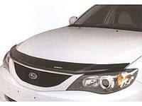 Дефлектор капота (мухобойка) на Субаро Импреза с 2008 оригинал (на крепижах) EGR.
