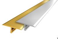 Порожек алюминиевый Т-образный