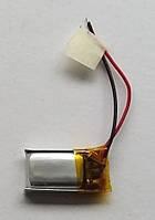 Литиевый элемент питания 041019  3,7V (фактический размер 04x10x19mm)  ёмкость производителем не указана