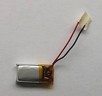 Литиевый элемент питания 041121  3,7V (фактический размер 04x11x21mm)  ёмкость производителем не указана