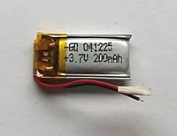 Литиевый элемент питания 041225 3,7V (фактический размер 05x12x25mm)  200mAh