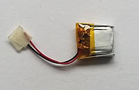 Литиевый элемент питания 041517 3,7V (фактический размер 04x15x17mm)  ёмкость производителем не указана