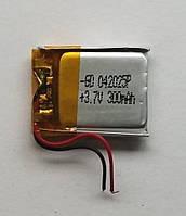 Литиевый элемент питания 042025 3,7V (фактический размер 04x20x25mm)  300mAh