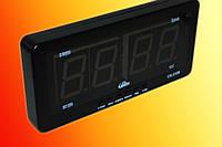 Часы электронные Caixing CX 2159 + машинная зарядка (LED индикация)