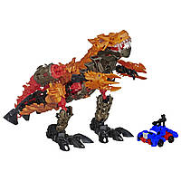 Набор Transformers Age of Extinction Construct-Bots Dinofire Grimlock and Optimus Prime