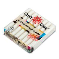 Полимерная глина Craft&Clay Крафт энд Клей 52 г,цвет белый 1001