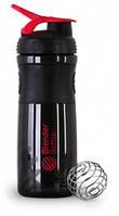 Шейкер Blender Bottle (760 ml black and red)