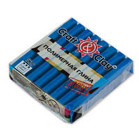 Полимерная глина Craft&Clay Крафт энд Клей 52 г,цвет синий 1018