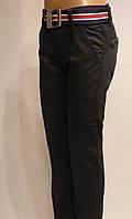 Котоновые брюки Для мальчика черные Польша 4 года Xu. Wear.