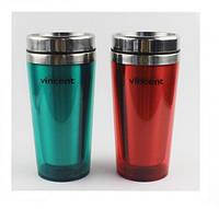 Термос-чашка Vincent VC-1512 mix, 400 мл