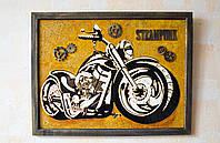Картина на стекле Мотоцикл