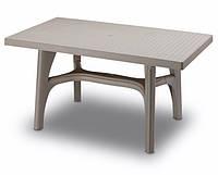 Пластиковый дачный стол Scab Intrecciato