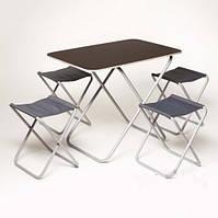 """Комплект """"Пикник"""", стол и 4 стула в сумке"""