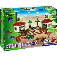 Игровой набор Wader Kid Cars ранчо 53410