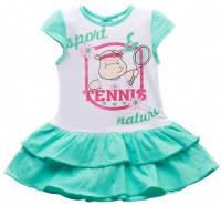 Платье летнее на девочку 1-2 года Тенис