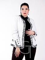 Красивая женская куртка демисезонная Стеганка, Мода плюс